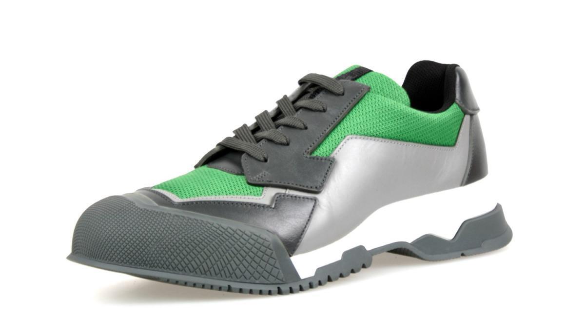 shoes PRADA LUSSO 4E2748 ANTHRACITE green NUOVE 9 43 43,5