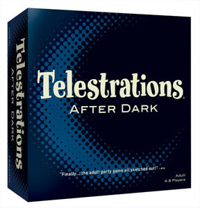 Telestrations After Dark Adult Board Game  AGE 17+
