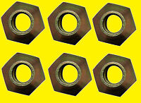 6 - Massey Ferguson 184273m1 Wheel Lug Nuts 5/8 X 18 Mf 65 158 175 285 595 765