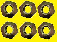 6 - Massey Ferguson 184273m1 Wheel Lug Nuts 5/8 X 18 Mf 65 158 175 285 595 765