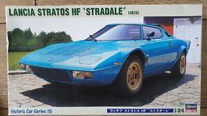 HASEGAWA 1/24 LANCIA STRATOS BNIB model kit