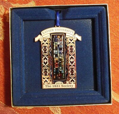 Xavier University Musketeers Christmas Ornament 2016 The 1831 Society