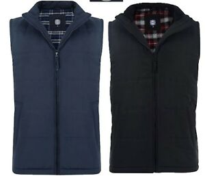 Kam New Mens Big & Tall Waistcoat Biker Padded Lined Zip Bodywarmer Gilet Jacket