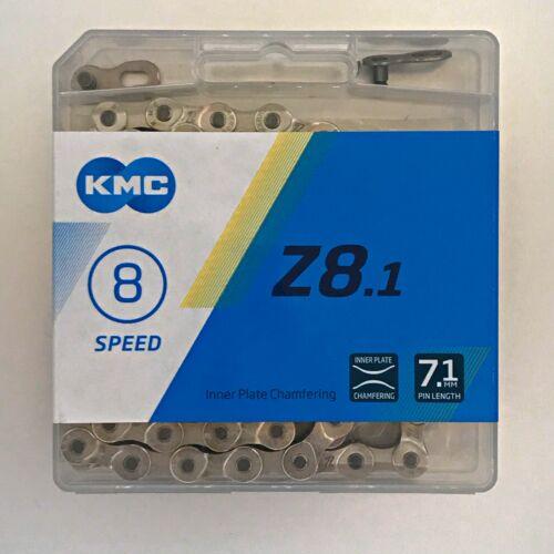 "KMC Z8.1 Chain — AUS Stock — Bicycle Bike MTB Road 3//32/"" — 6//7//8 Speed"