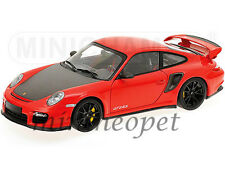 MINICHAMPS 100-069407 2011 PORSCHE 911 997 GT2 RS 1/18 RED with BLACK WHEELS