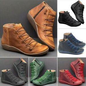 women winter boots autumn arch support ankle boots side