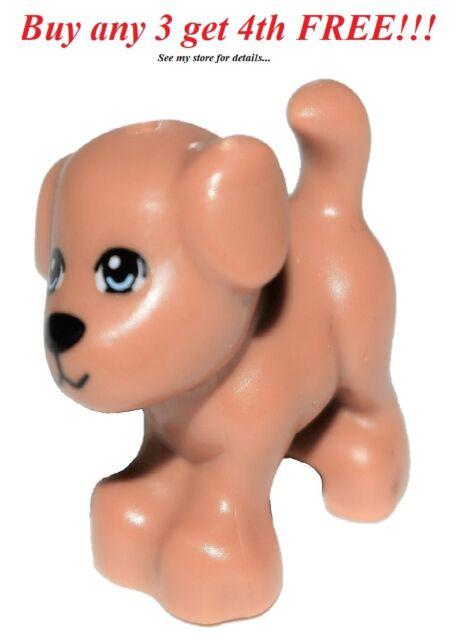 Standing Puppy Brown Dog Friends Lego Animal 93088pb02