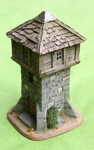 Details about OLDHAMMER OLDE-WORLD STONE WATCH TOWER 28MM HIGH DETAILED  RESIN FANTASY SCENERY