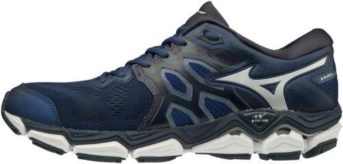 Navy Mizuno Wave Horizon 3 Mens Running Shoes