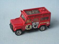 Matchbox Land Rover 110 Defender Dark Red Body Amazon Sanctuary Toy Model Car