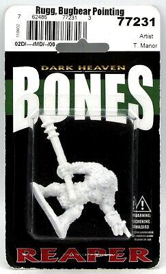 Reaper Bones 77231 Rugg Bugbear Leader