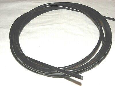 Schaltzug Außenhülle Schwarz Ø 4 mm Innen Teflon Beschichtet 2 m Rolle 15850