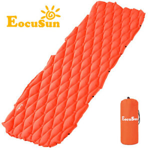 Inflatable-Air-Mattress-Cushion-Hut-Tent-Mat-Camping-Hiking-Travel-Sleeping-Pad