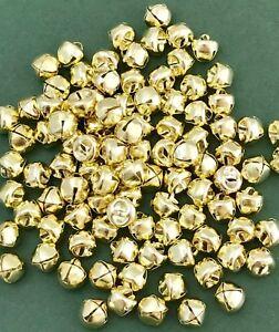 Green Jingle Bells Craft Christmas Bells Red /& Gold Sew on  ***UK Seller***