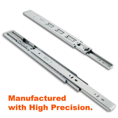 """Soft Close Side Mount Ball Bearing Drawer Slides 12/"""" to 24/"""" High-Quality"""