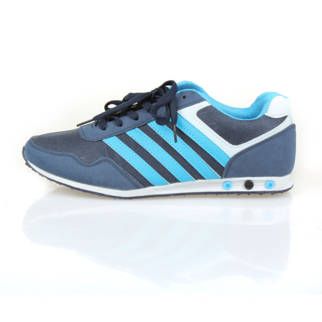 MENS RUNNING TRAINERS CASUAL LACE UP RUNNING GYM WALKING  SPORTS SHOES UK SIZE