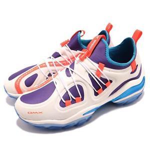 a9cbd17a19b2 Reebok DMX Series 2000 Low Chalk White Orange Purple Blue Men Shoes ...