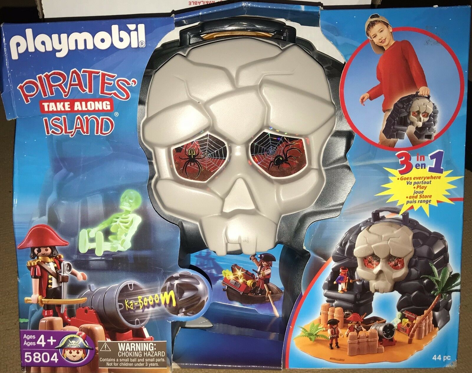Playmobil Pirate's Take-Along Island - Dented Box