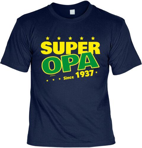 83.Geburtstag T-Shirt Geburtstag 83 Jahre Opa Tshirt Sprüche Jahrgang 1937