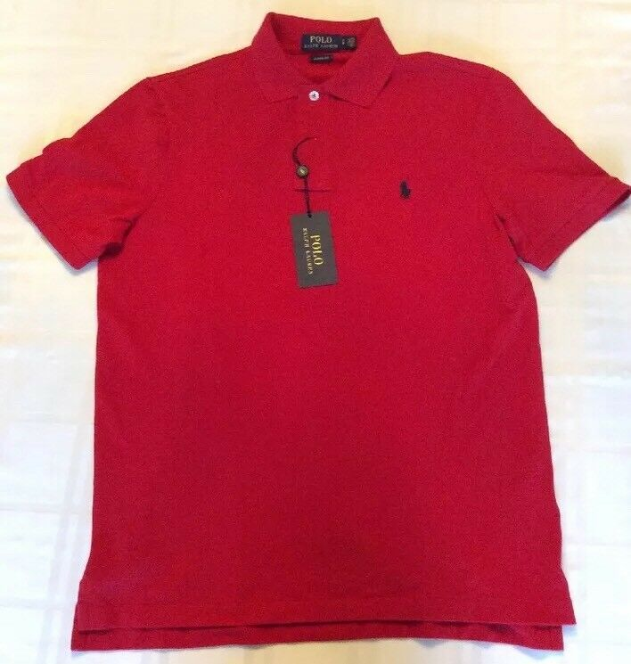 New Polo Ralph Lauren Men's Classic Fit Cotton Shirt Size Small New With Tags