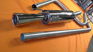ligne d echappement 5 gt turbo diametre 60mm sortie conique type devil ebay. Black Bedroom Furniture Sets. Home Design Ideas