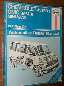 chevy astro van repair manual 1994 how to and user guide rh taxibermuda co 1996 chevy astro van repair manual 1998 Chevy Astro Van