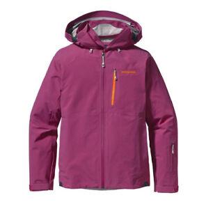 Patagonia-Women-039-s-Taille-M-Primo-Goretex-Veste-de-ski-rose