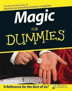Magic-for-Dummies-by-David-Pogue-1998-Paperback