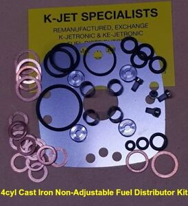 0438100005-Fuel-Distributor-4cyl-Cast-Iron-FD-NON-Adjustable-type-Repair-Kit