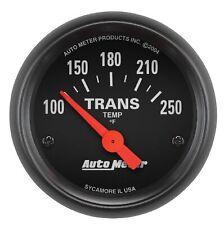 Auto Meter 2640 Z Series 2 116 Electric Transmission Temp Gauge 100 250 Deg F