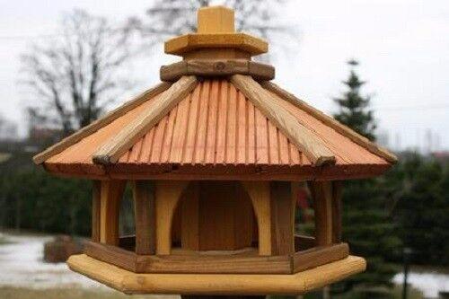VOGELHAUS HOLZ HOLZ HOLZ Vogelhäuschen Vogelhäuser Vogelfutterhaus Futterspender  L | Perfekte Verarbeitung  | Zu verkaufen  | Mode-Muster  18de86