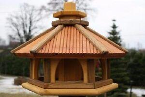 VOGELHAUS HOLZ Vogelhäuschen Vogelhäuser Vogelfutterhaus Futterspender!!!