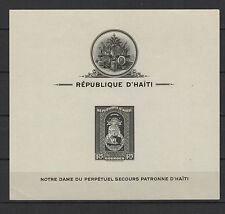 République d'Haïti 1943 Notre Dame d'Haïti  3 feuillets timbres neufs/B5Bar