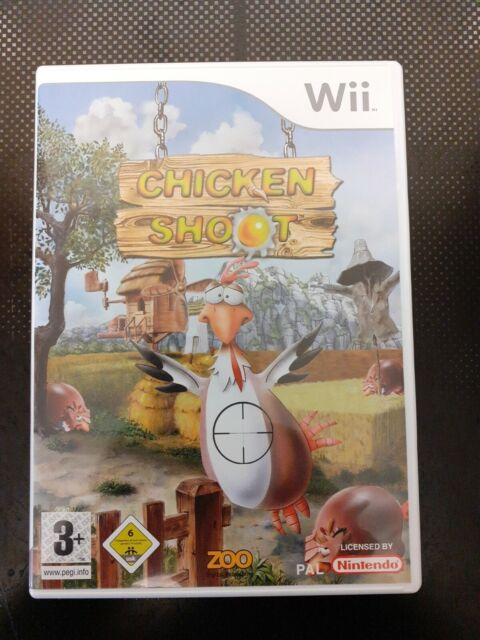 Chicken Shoot Pour Le Nintendo Wii/Wii U PAL (occasion)