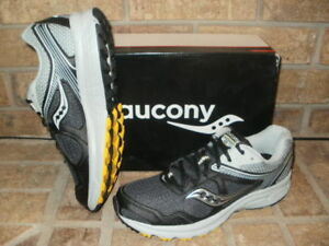 Details about New Saucony Cohesion TR10 Mens Trail Running Shoe S25339 1 Black Gray Yellow