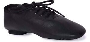 Split-Sole-Jazz-shoes-Black-leather