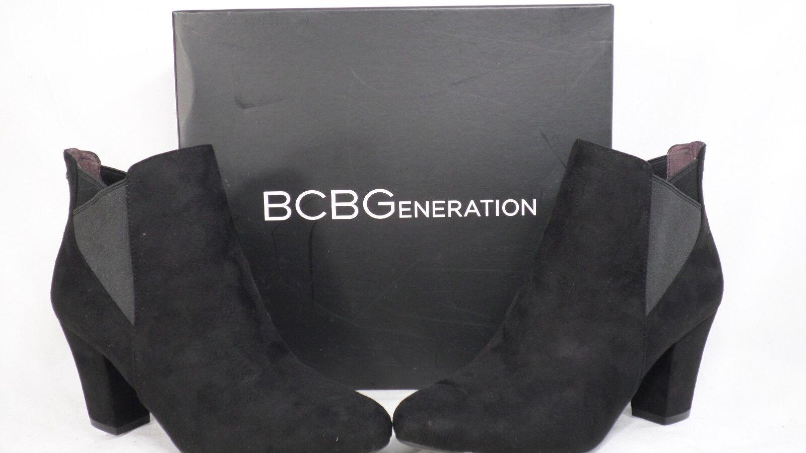 Bcbgeneration 'Dolan' Negro Imitación Imitación Imitación Gamuza tirar-en botín mujeres tamaño 6.5 M vestido  te hará satisfecho