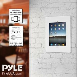 New-Pyle-Tablet-Security-Anti-Theft-Wall-Mount-Public-Display-with-Safe-Lock