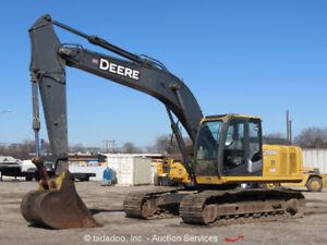 2011-John-Deere-200D-LC-Excavator-Hydraulic-Cab-A-C-42-034-Digging-Bucket-bidadoo