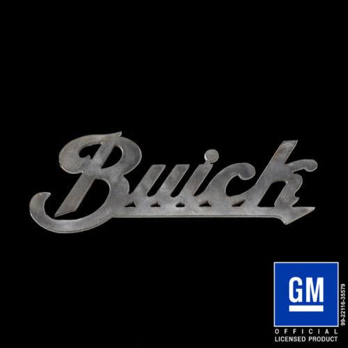 Speedcult Buick Script Sign Metal New Item GMBCK02