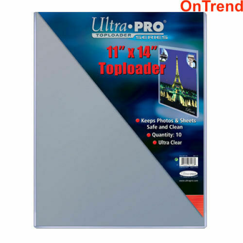 """1x ULTRA PRO Top Loader 11/"""" x 14/"""" Gaming Trading Cards Photos Poster"""