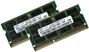 2 x 4GB 8GB Dell Precision Workstation M6500 Laptop Memory DDR3 RAM
