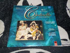 Cinderella-Laserdisc-Ld-Reale-Balet-Antoinette-Sibley-Ordini