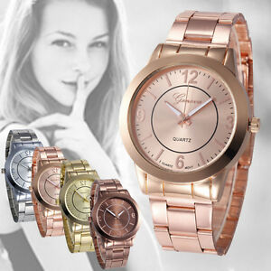 Luxury-Women-Ladies-Crystal-Diamonds-Stainless-Steel-Bracelet-Quartz-Wrist-Watch