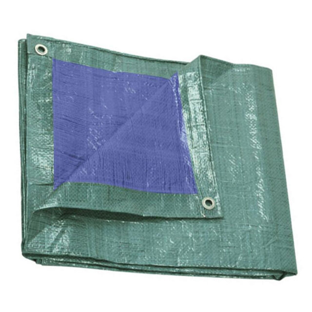 Telo protezione occhiellato telone 140gr impermeabile resistente piscina PRB1400
