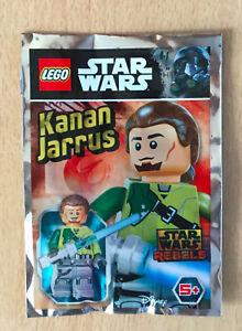 LEGO-SET-star-wars-POLYBAG-FIGURINE-MINIFIG-NEUF-LE-JEDI-KANAN-JARRUS-REBELS