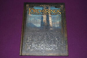 LORD-OF-THE-RINGS-RPG-JDR-Jeu-de-Role-The-Two-Towers-Sourcebook
