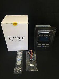 Elite Entertainment Model Eedv02 Rv Stereo 12 Volt Wall