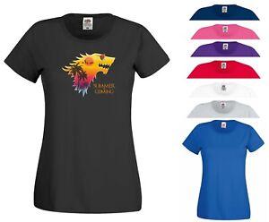 68893071c452 Game of Thrones T Shirt Summer Is Coming Parody GOT Wolf Jon Snow ...