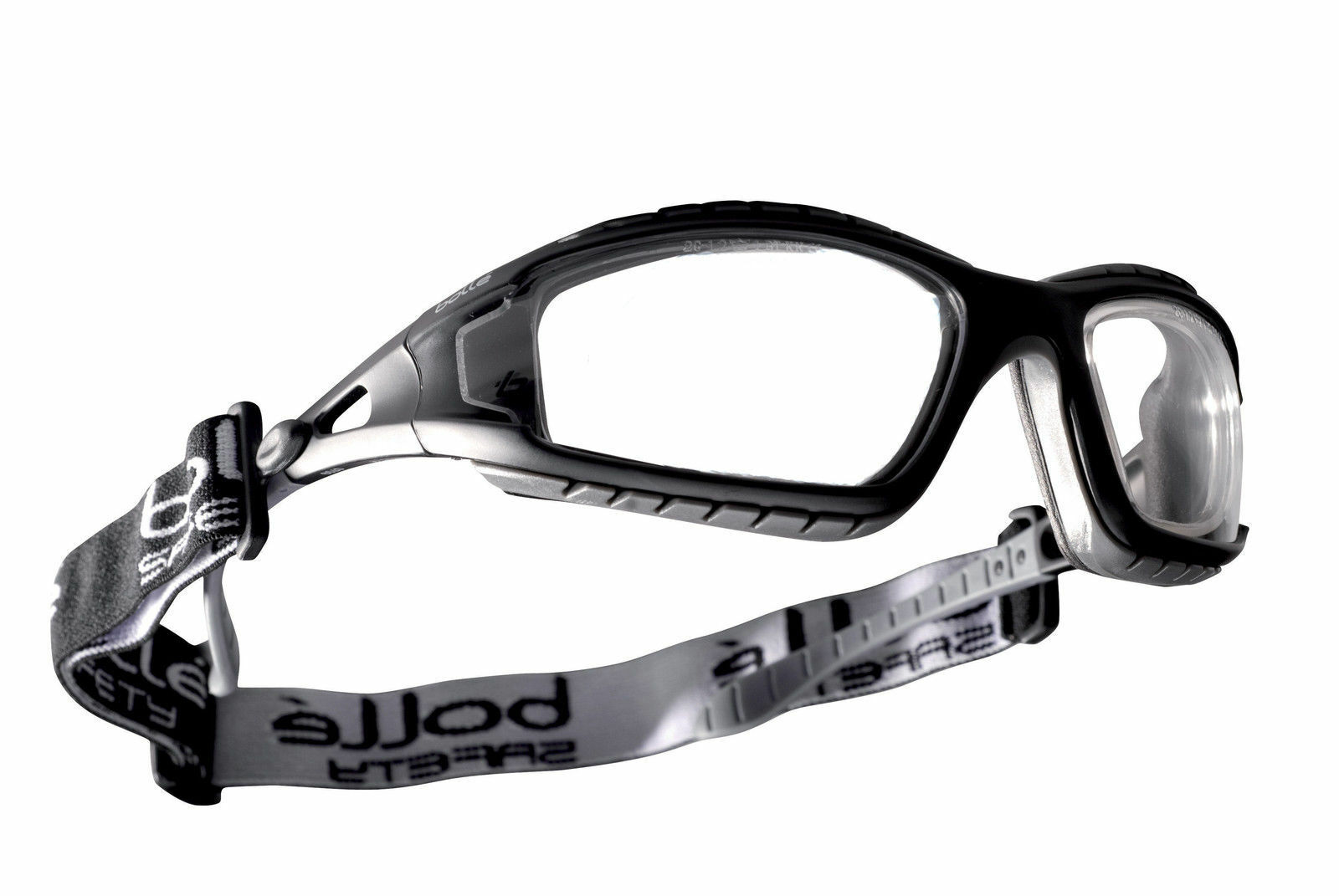 BOLLE CLEAR LENS SAFETY GLASSES, PredECTIVE EYE WEAR GOGGLES TRACPSI RDG